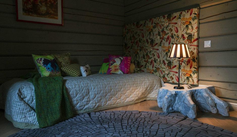 Фотография: Спальня в стиле Прованс и Кантри, Дом, Дома и квартиры, Проект недели, Дача, dom-iz-brusa – фото на InMyRoom.ru