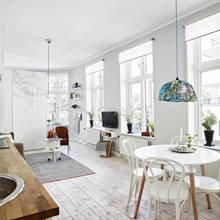 """Фото из портфолио """"Лёгкая и воздушная"""" 1-комнатная квартира, 39 кв.м  – фотографии дизайна интерьеров на INMYROOM"""