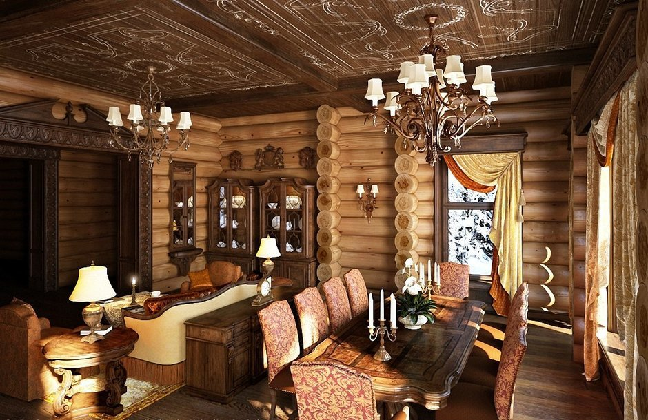 Фотография: Гостиная в стиле , Кухня и столовая, Интерьер комнат – фото на InMyRoom.ru