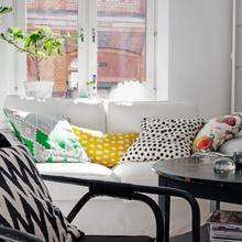 Фотография: Гостиная в стиле Скандинавский, Кантри, Малогабаритная квартира, Квартира, Дома и квартиры, Стокгольм – фото на InMyRoom.ru