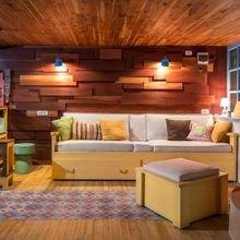 Фото из портфолио Уютный лаундж с эклектичной атмосферой – фотографии дизайна интерьеров на INMYROOM
