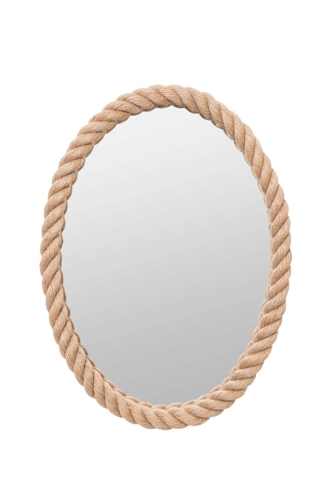 Купить Зеркало в канате овальное, inmyroom, Россия