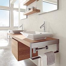 Фотография: Ванная в стиле Современный, Классический, Скандинавский, Интерьер комнат, Марокканский – фото на InMyRoom.ru
