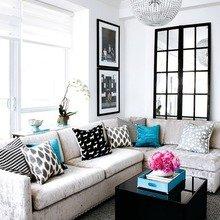 Фотография: Гостиная в стиле Современный, Классический, Декор интерьера, Интерьер комнат – фото на InMyRoom.ru