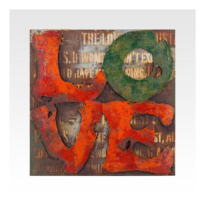 Инсталляция In Love