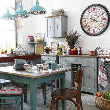 Фотография: Кухня и столовая в стиле Скандинавский, Декор интерьера, Comptoir de Famille, Мебель и свет, Прованс, Буфет – фото на InMyRoom.ru