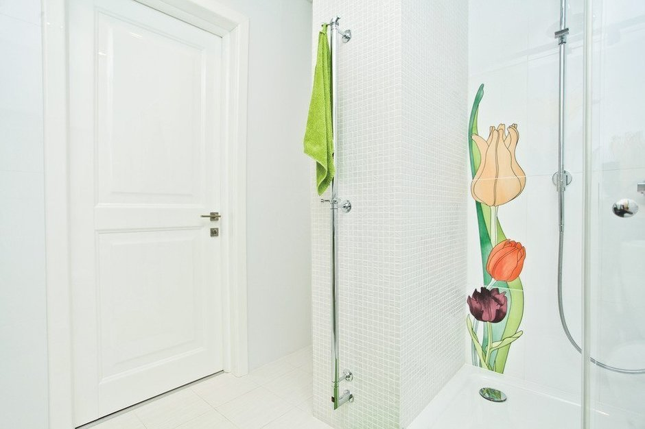 Фотография: Ванная в стиле Современный, Скандинавский, Квартира, Дома и квартиры, Проект недели – фото на InMyRoom.ru