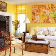 Фотография: Гостиная в стиле Кантри, Декор интерьера, Дизайн интерьера, Цвет в интерьере, Dulux, ColourFutures, Akzonobel – фото на InMyRoom.ru