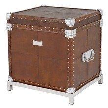 "Сундук Eichholtz ""Flightcase Brown Leather"""