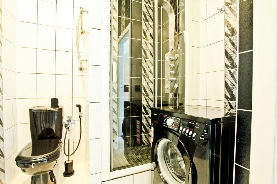 Фотография: Ванная в стиле Современный, Квартира, Цвет в интерьере, Дома и квартиры – фото на InMyRoom.ru