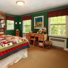 Фотография: Спальня в стиле Кантри, Декор интерьера, Малогабаритная квартира, Квартира, Дома и квартиры – фото на InMyRoom.ru