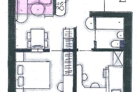 Из однушки можно сделать: 1) двушку 2) трёшку 3) четырёшку 4) две квартиры
