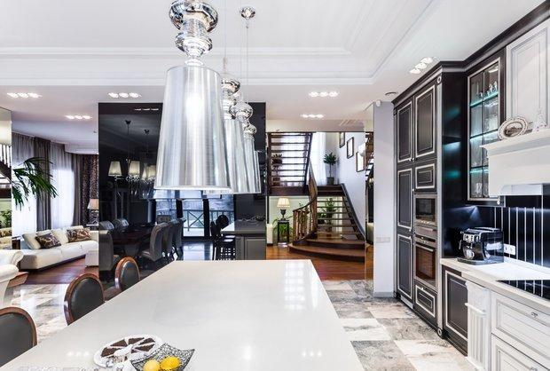 Фотография: Кухня и столовая в стиле Эклектика, Гостиная, Советы – фото на INMYROOM