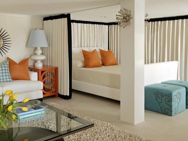 Фотография: Спальня в стиле Восточный, Эклектика, Гостиная, Интерьер комнат – фото на InMyRoom.ru
