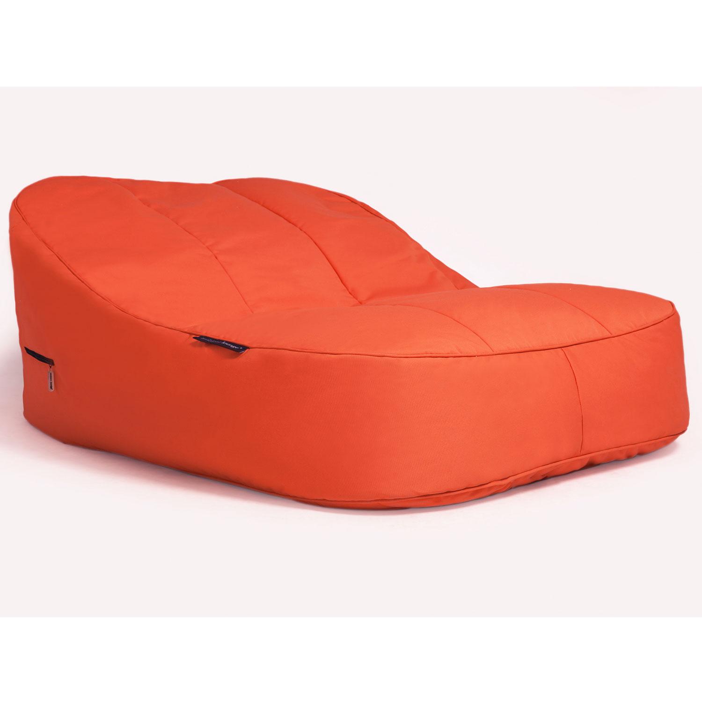 Воздушный шезлонг для двоих Ambient Lounge Satellite Twin Sofa - Desert Sunset (оранжевый)