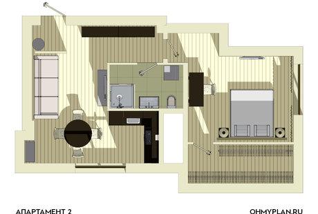 Разработка планировок квартир в подарок.