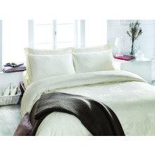 Комплект постельного белья евро CONTESSA кремовый
