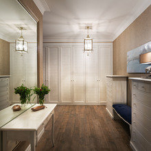 Фотография: Прихожая в стиле Кантри, Классический, Квартира, Проект недели – фото на InMyRoom.ru