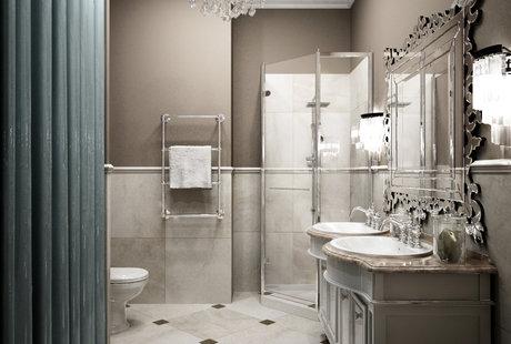 Дизайн ванной комнаты. Тенденции и материалы