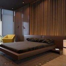 Фотография: Спальня в стиле Современный, Декор интерьера, Дизайн интерьера, Цвет в интерьере, Советы, Коричневый – фото на InMyRoom.ru