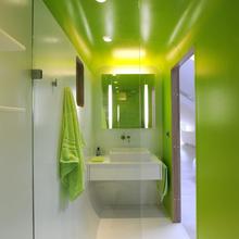 Фотография: Ванная в стиле Современный, Хай-тек, Лофт, Квартира, Дома и квартиры, Футуризм – фото на InMyRoom.ru