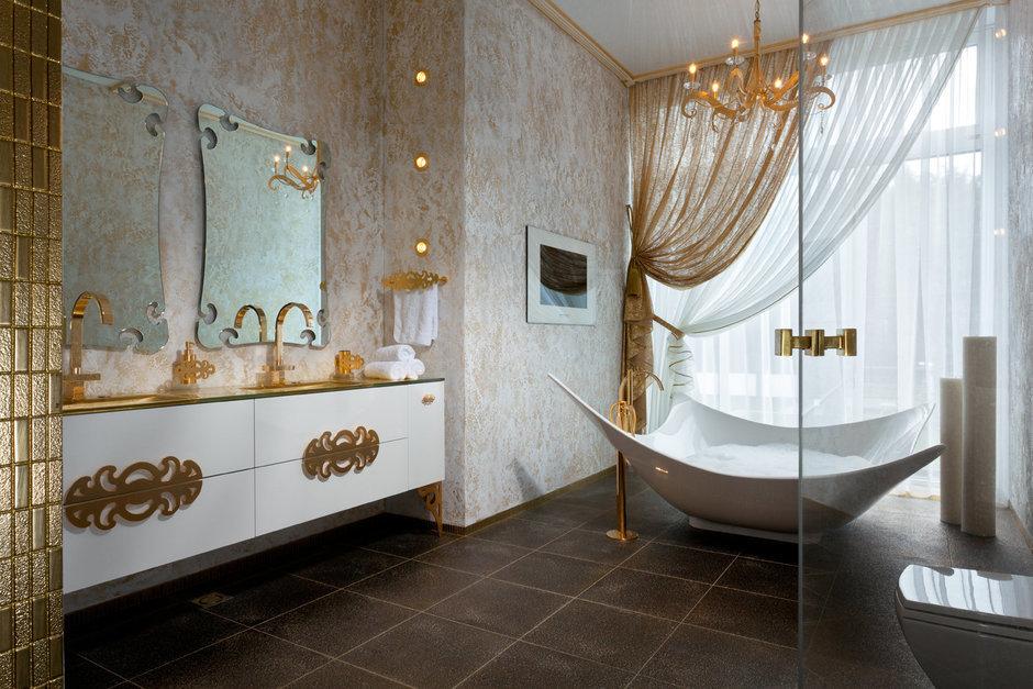 Фотография: Ванная в стиле Классический, Квартира, Проект недели – фото на InMyRoom.ru