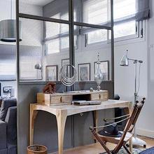 Фотография: Спальня в стиле Скандинавский, Декор интерьера, Малогабаритная квартира, Квартира, Дома и квартиры, Пол, Индустриальный – фото на InMyRoom.ru