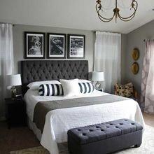 Фотография: Спальня в стиле Кантри, Квартира, Планировки, Мебель и свет, Советы, Переделка, Тина Гуревич – фото на InMyRoom.ru