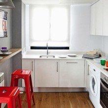 Фотография: Кухня и столовая в стиле Лофт, Современный, Квартира, Дома и квартиры, Проект недели – фото на InMyRoom.ru