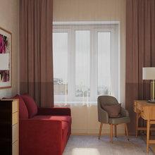 Фото из портфолио Кабинет-гостевая комната. – фотографии дизайна интерьеров на INMYROOM