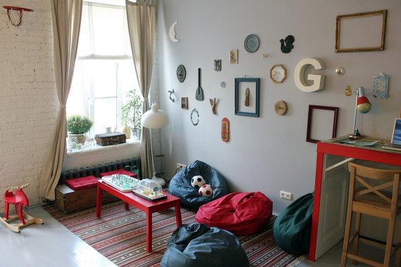 Фотография: Детская в стиле Лофт, Скандинавский, Дизайн интерьера, Ретро, Хостел, Санкт-Петербург – фото на INMYROOM