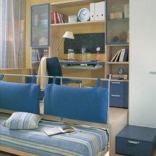 Фотография: Офис в стиле Современный, Детская, Интерьер комнат, Часы – фото на InMyRoom.ru