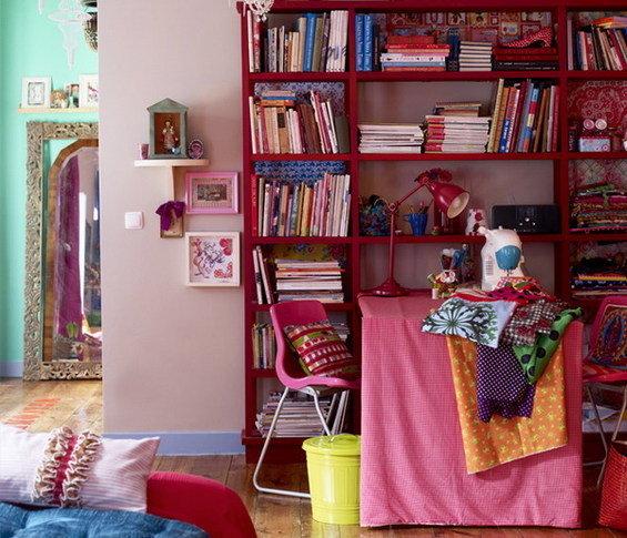Фотография: Кабинет в стиле Восточный, Эклектика, Квартира, Дома и квартиры, Перепланировка – фото на INMYROOM