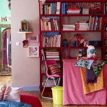 Фотография: Кабинет в стиле Восточный, Эклектика, Квартира, Дома и квартиры, Перепланировка – фото на InMyRoom.ru