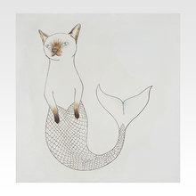 Картина Cat Mermaid