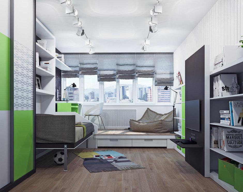 Фотография: Детская в стиле Современный, Лофт, Декор интерьера, Квартира, Декор, Мебель и свет, Проект недели – фото на InMyRoom.ru