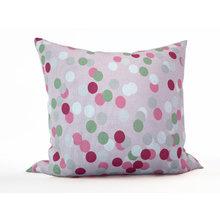 Декоративная подушка: Цветные круги