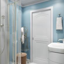 Фотография: Ванная в стиле Кантри, Современный, Квартира, Проект недели – фото на InMyRoom.ru