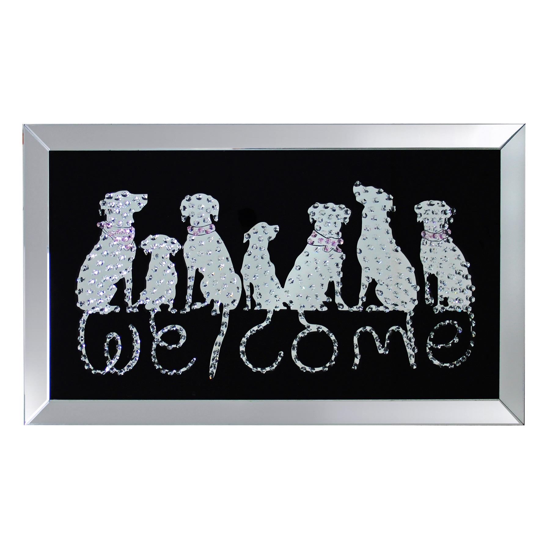 Купить Постер декоративный Welcome 120x70 см, inmyroom, Китай