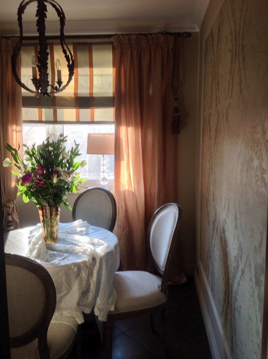 """Фотография: Кухня и столовая в стиле Прованс и Кантри, Классический, Квартира, Дома и квартиры, Проект недели, Школа """"Детали"""" – фото на InMyRoom.ru"""