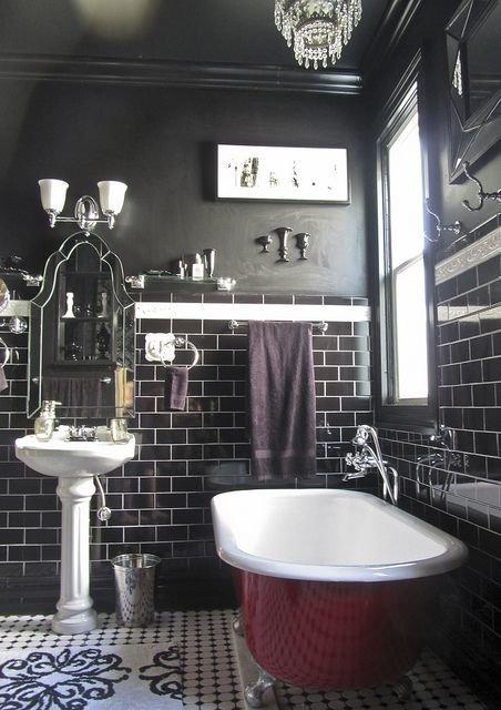 Фотография: Ванная в стиле Прованс и Кантри, Декор интерьера, Аксессуары, Декор, Белый, Черный, Желтый, Серый, Бирюзовый – фото на InMyRoom.ru