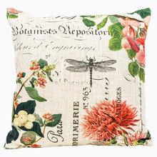 Декоративная подушка «Лесная сказка», версия 3