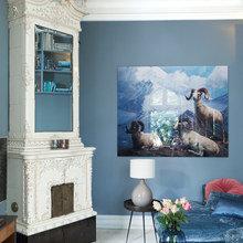 Фото из портфолио Все оттенки синего: гармония и красота – фотографии дизайна интерьеров на INMYROOM