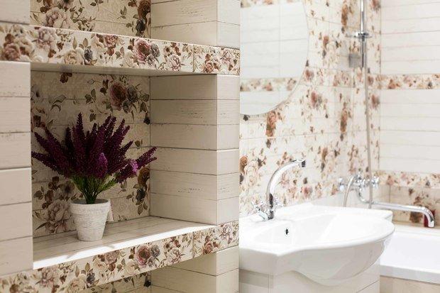 Фотография: Ванная в стиле Прованс и Кантри, Советы, ОБИ – фото на INMYROOM