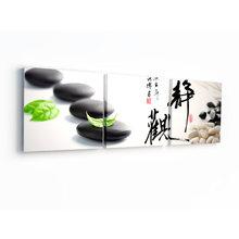 Декоративная картина: Черные камни