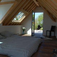 Фотография: Спальня в стиле Кантри, Современный, Дом, Дома и квартиры, Городские места, Переделка – фото на InMyRoom.ru