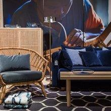 Фотография: Гостиная в стиле Эко, Гид – фото на InMyRoom.ru