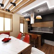 Фото из портфолио Дизайн таунхауса для холостяка – фотографии дизайна интерьеров на INMYROOM
