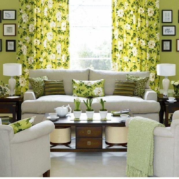 Фотография: Гостиная в стиле Классический, Декор интерьера, Квартира, Дом, Декор, Зеленый – фото на InMyRoom.ru