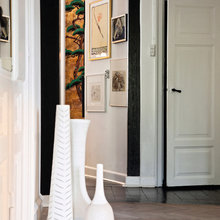 Фотография: Прихожая в стиле Кантри, Декор интерьера, Квартира, Дома и квартиры, Камин – фото на InMyRoom.ru